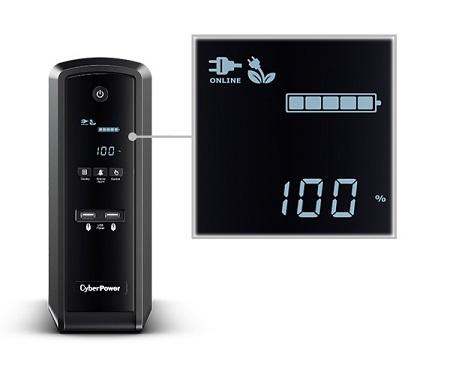 Bộ lưu điện UPS CyberPower CP1500EPFCLCD LCD