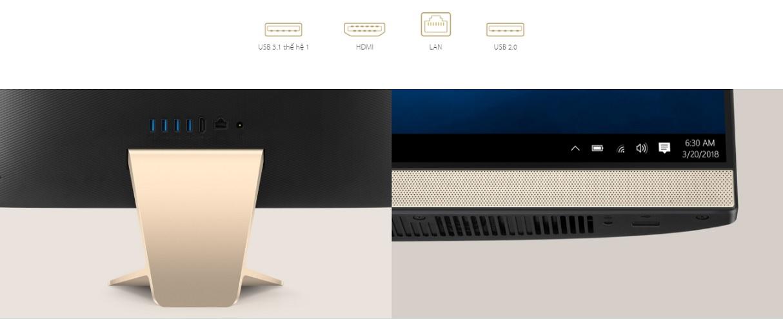 Máy tính để bàn All In One với màn hình cảm ứng Asus V241FAT-BA042T